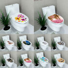 Decoration Toilet Diy Seats Mural Stickers Home Decal Wall 3d Lid Cover Bathroom