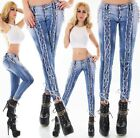 Original Denim Women's Lace-Up Skinny Denim Jeans - XS/S/M/L/XL