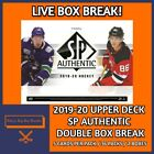 2019-20 UPPER DECK SP AUTHENTIC HOCKEY DOUBLE HOBBY BOX BREAK #14 $9.99 CAD on eBay