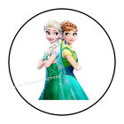 "30 ELSA ANNA FROZEN ENVELOPE SEALS LABELS STICKERS PARTY FAVORS 1.5"" ROUND"