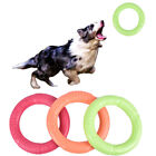 Dog Toy Catching Flying Soft Rubber Disc Bite Resistance Pet Toy Flexi WFR