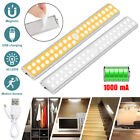 40 LED Motion Sensor Closet Light Wireless Night Cabinet USB Rechargeable Indoor