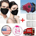 Kyпить Reusable Face Mask Air Purifying Cotton Mouth Cover Washable with PM2.5 filters на еВаy.соm