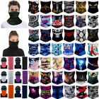 Upf 50+ Magic Head Face Mask Snood Neck Tube Headwear Wrap Shawl Outdoor Scarf