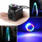 Submersible Water Pump with 12 LED Lights for Fountain Pool Garden Pond FishW KN $4.73 USD on eBay
