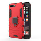 Rugged Armor Case For iPhone 7 8 6 Plus XR XS MAX Magnetic Ring Stand Hard Cover