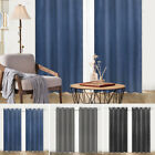 Kyпить Embossed Blackout Room Darkening Grommet Window Curtains Set of 2 Panels bedroom на еВаy.соm