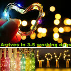 Wine Bottle String Lights Starry Fairy Home Twinkle Decor For Party Christmas Uk
