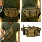 Tactical Fanny Pack Bumbag Waist Bag Military Hip Belt Outdoor Hiking Fishing
