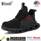 Men's Net Safety Shoes Steel Toe Cap ESD Work Boots Indestructible Sneakers USA