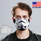 Storm Trooper Star Wars Face Mask 3D Fabric Mask Washable Reusable (with Filter) $18.95 USD on eBay