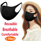 Face Shield Cover W/ Filter Valve Breathing Breathable Reuse Anti Smoke Dust Fog