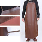 Kitchen Apron Lengthen Oil Proof Easy Clean Anti-dirt Leather Adult Work Shop