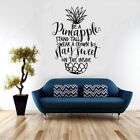 Pineapple Funny Quote Inspiring Wall Sticker Vinyl Home Decor Removable Murals