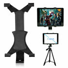 "360 Rotating Tablet Tripod Stand Mount Clamp Holder 1/4"" Thread For 7-10"" iPad"