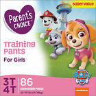 Parent's Choice Training Pants for Girls, Size 3T-4T, 86 Count image