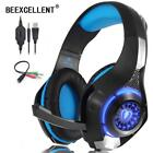 Beexcellent Stereo Gaming Headset Casque Deep Bass Stereo Game Headphone With Mi