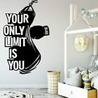 Modern Boxing Your Only Limit Is You Home Decor Modern Acrylic Decoration Murals