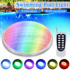 36W RGB LED Underwater Swimming Pool Light Wall-mounted/Embedded+ Remote  R