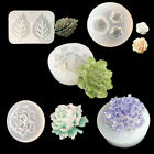 Silicone Mold Flower Leaf Epoxy Resin Mould Diy Jewelry Making Tool Crafts Vryl