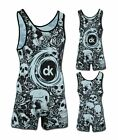 Dragon Cage Fighter Uniform Wrestling MMA Fighting Singlet-In Stock-Ships 4m USA