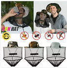 Anti-Mosquito Bug Fly Bee Insect Head Net Hat Cap Sun Protection .Fishing&Hiking