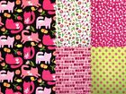 OH HAPPY DAYS - CATS & FLOWERS by Anna Bella 100% cotton patchwork fabric