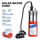 12V /24V Stainless Solar Deep Well Submersible Water Pump for Farm Irrigation