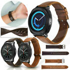UK+Genuine+Leather+Strap+Wristband+For+Samsung+Galaxy+Watch+46mm+42mm+Gear+S3+S2