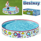 BESTWAY 5FT RIGID CHILDRENS KIDS SUMMER FUN GARDEN SWIMMING PADDLING SPLASH POOL