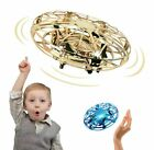 Mini UFO Drone Flying Toy Hand Operated Quadcopter Drones for Child or Adult