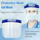 Safety Full Face Shield Guard Clear Glasses Protector Eyes Case Tool