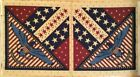Patriotic Fabric Panel Quilts of Valor Stars Eagle OOP Quilt Shop Quality Cotton