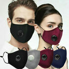 Adult Protective Cotton Mask Windproof Outdoor Face Mask With Breathing Valve