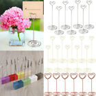 16pcs Wedding Place Card Holder Cafes Table Number Memo Name Clip Note Stand UK