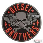 Large Big XL Size Embroidered Patch Sew Iron on for Back Motorcycle Vest Jacket