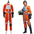 Star Wars X-WING Rebel Pilot Jumpsuit Uniform Cosplay Costume Suit Outfit $100.0 USD on eBay