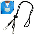 Hanging Anti-lost Face Mask Lanyards With Two Clips Neck Straps Protect Ears