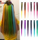 Clip In Hair Extensions One Piece For Ombre  Pure Color Straight 2 tone