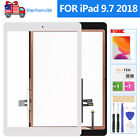 For iPad 2018 6th Gen Screen Replacement A1954 Touch A1893 Digitizer Home Button