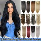 Real Thick Full Head Hair 8 Pieces Clip In Hair Extensions 100% Natural as Human