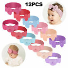 Baby Toddler Girls Kids Hair Bow Knot Turban Headband Headwrap Hair Accessories