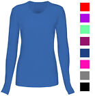 T Flex Womens Comfort Long Sleeve T-Shirt Underscrub Tee Layering Shirt Uniform