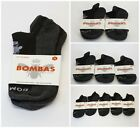 Bombas Black and Charcoal Ankle Socks Size Medium 1/ 2/ 3/ 5 Pack NWT
