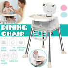 Baby High Dining Chair Table Folding Adjustable Height Child Feeding Seat Safety