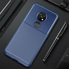 For Nokia 7.2 6.2 4.2 3.2 2.3 8.1 Slim Carbon Fiber Shockproof Soft TPU Case