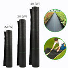 Landscape Fabric Weed Block Barrier Ground Cover Fabric Non-Woven Mats Garden