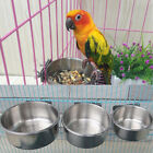 Stainless Steel Cat Cage Pet Bowl Food Container Hanging Bowl Dish Feeder