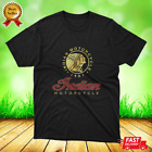 New Motorbike Biker Cafe Racer INDIAN MOTORCYCLE Retro t shirt Size S,M,L,XL,2XL