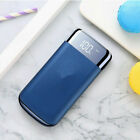 900000mAh Power Bank 2USB LCD External Battery Charger For Cell Phone Portable